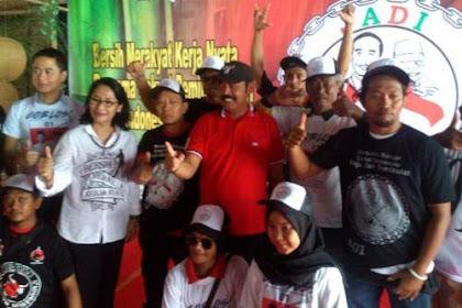 Semakin Dibombardir Kubu Prabowo, Relawan Makin Solid Menangkan Jokowi-Ma'ruf di Solo