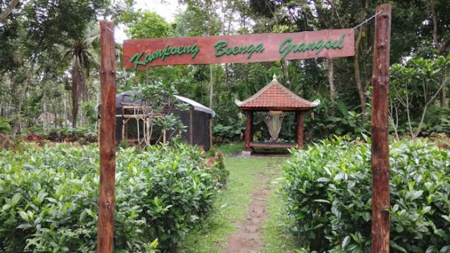 Kampung Bunga Grangsil Malang