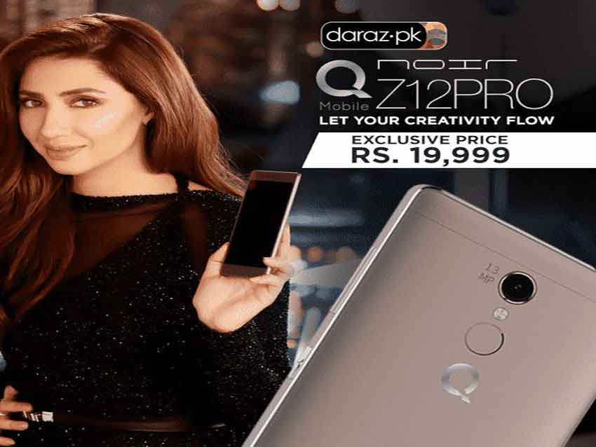 Daraz.pk Discount Offer for QMobile Z12 Pro in Rs. 19,999 Only