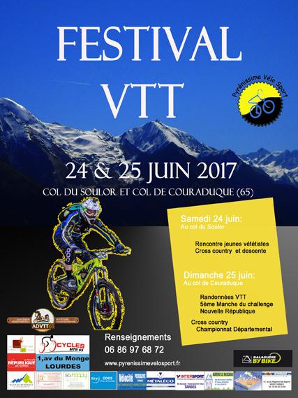 FESTI'VAL VTT Val d'Azun Pyrénées 2017
