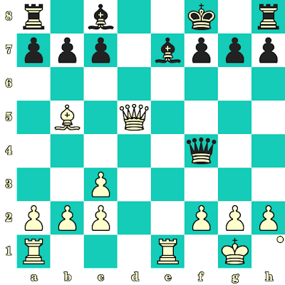 Les Blancs jouent et matent en 2 coups - Johannes Zukertort vs Adolf Anderssen, Breslau, 1865