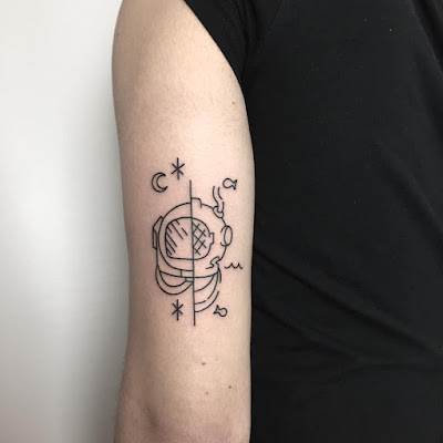 15 Tatuajes minimalistas que estan de moda