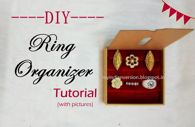 DIY Ring Organizer Holder