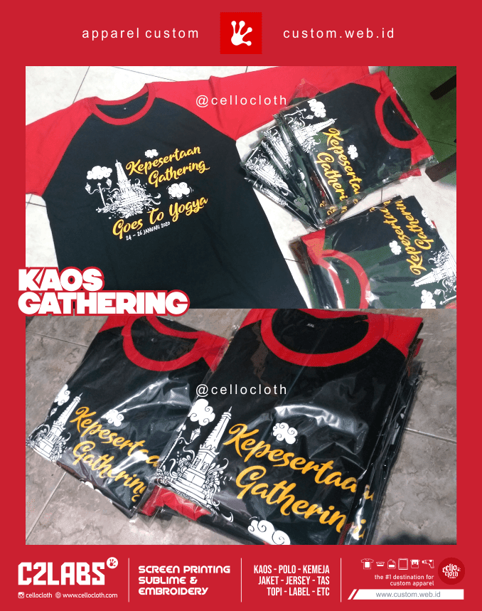 Kaos Gathering Goes To Jogja - Kaos Reuni