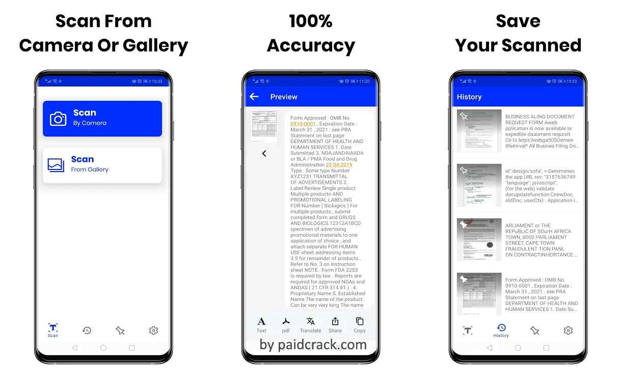 Easy Text Scanner - Text Recognition Premium Mod Apk 1.1.7