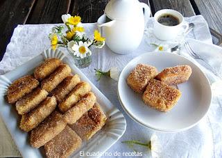 Leche Frita (Receta antigua de familia)