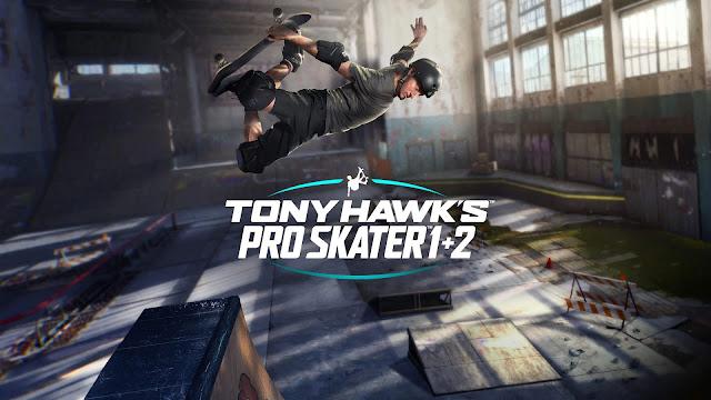 Tony Hawk?s Pro Skater 1 + 2 será lançado no Switch em junho