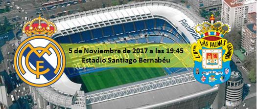 Previa Real Madrid - UD Las Palmas 5 Noviembre