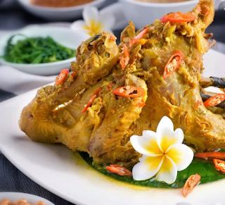masakan khas Bali
