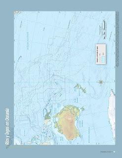 Apoyo Primaria Atlas de Geografía del Mundo 5to. Grado Capítulo 2 Lección 2 Ríos y Lagos en Oceanía
