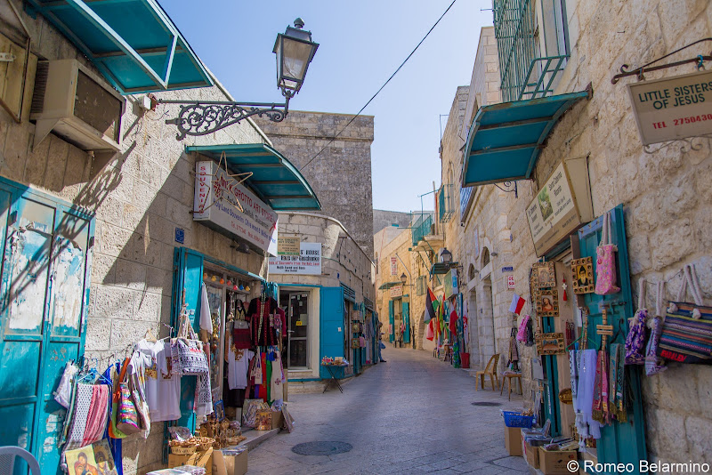Shopping Street Half-Day Tour of Bethlehem Jesus Birthplace