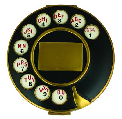 Telephone Compact (1935) by Salvador Dali and Elsa Schiaparelli