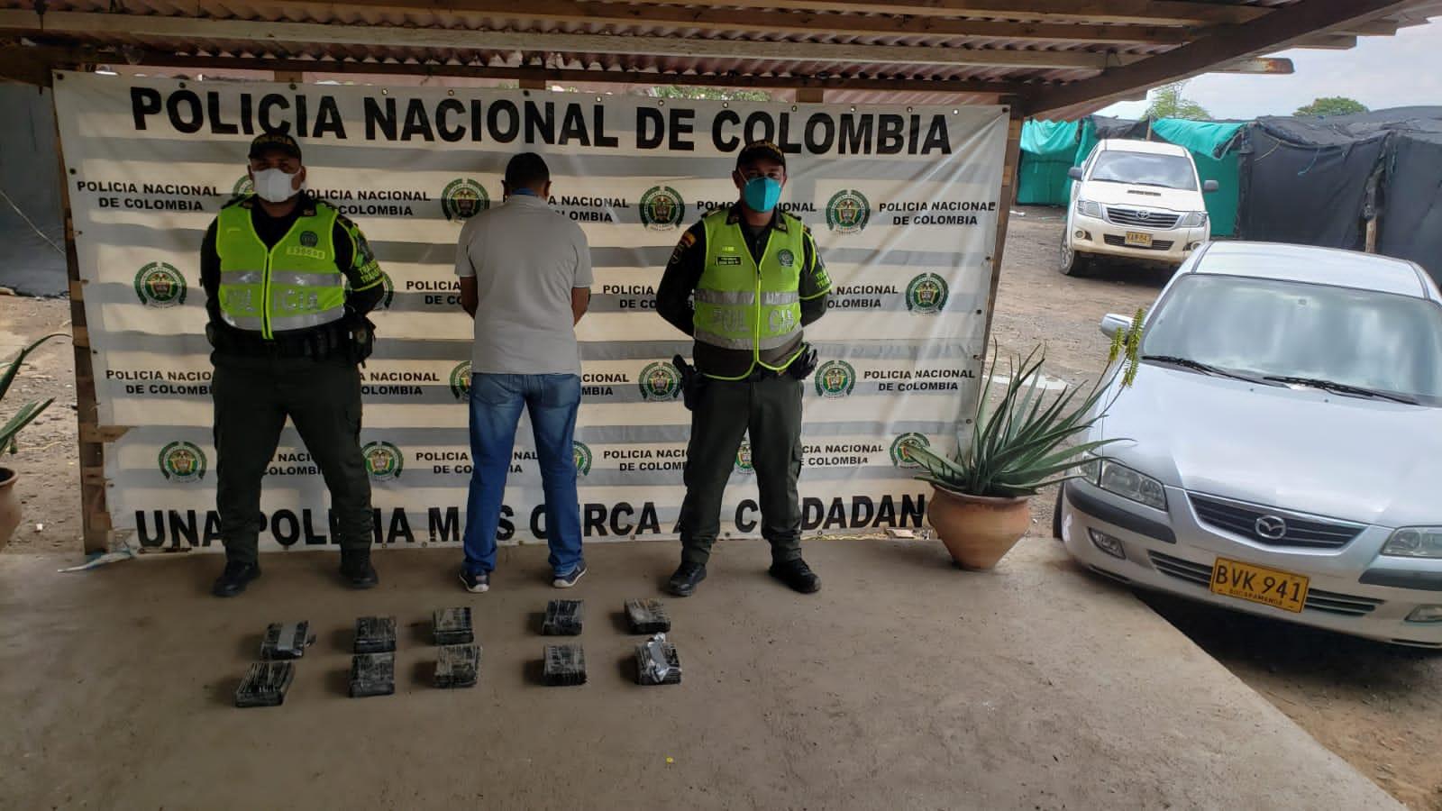 hoyennoticia.com, 'Caído' cerca a Maicao con 11 kilos de cocaína