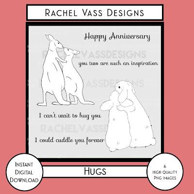 Rachel Vass Designs - Hugs