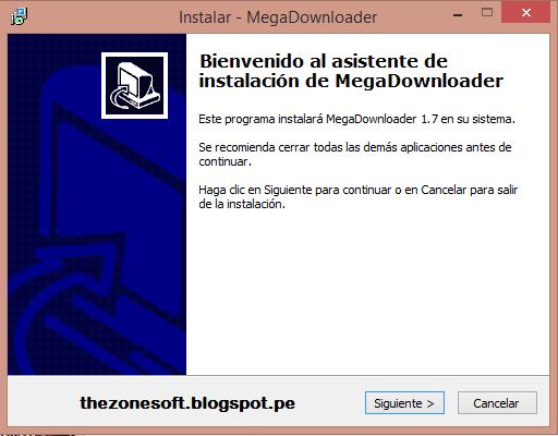 Thezonesoft: MegaDownloader v1 7 (Windows)