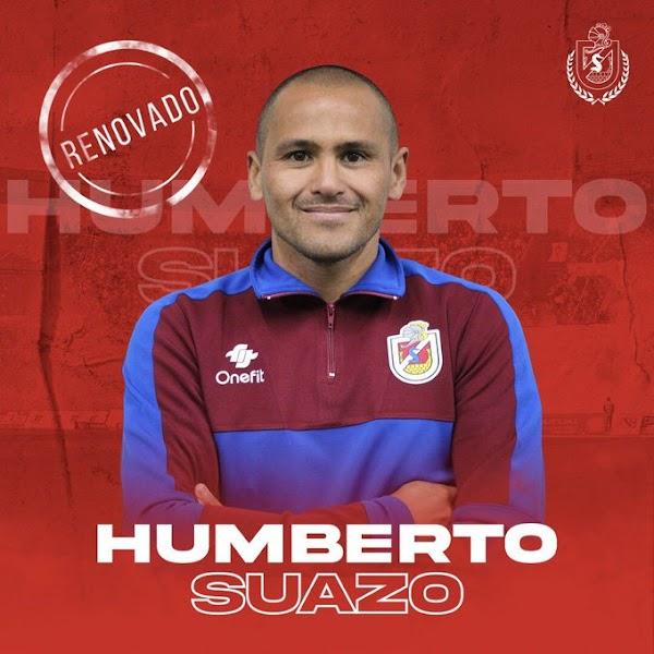 Oficial: Deportes La Serena, renueva Humberto Suazo