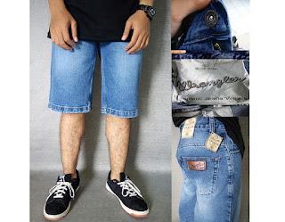 celana jeans wrangler, celana jeans wrangler pendek, celana wrangler