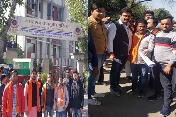 delhi-shaheen-bagh-news-faridabad-dev-sena-gau-taksha-dal-bajrang-dal