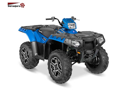 POLARIS SPORTSMAN 850 VELOCITY BLUE 2016