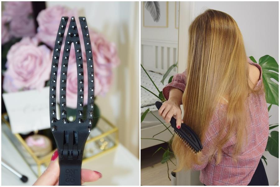Recenzja Szczotki Olivia Garden Finger Brush On The Go Kobiecy Blog O Wlosach Urodzie I Szczesciu