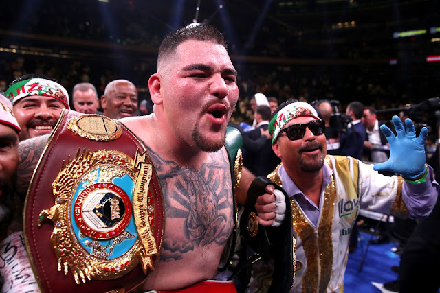 Andy Ruiz Jr IBO, WBA, IBF, WBO Unified Heavyweight champion