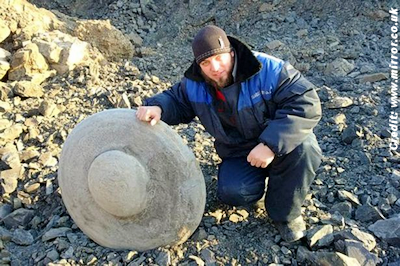 Did Miners Unearth 'Ancient Flying Saucer / UFO?