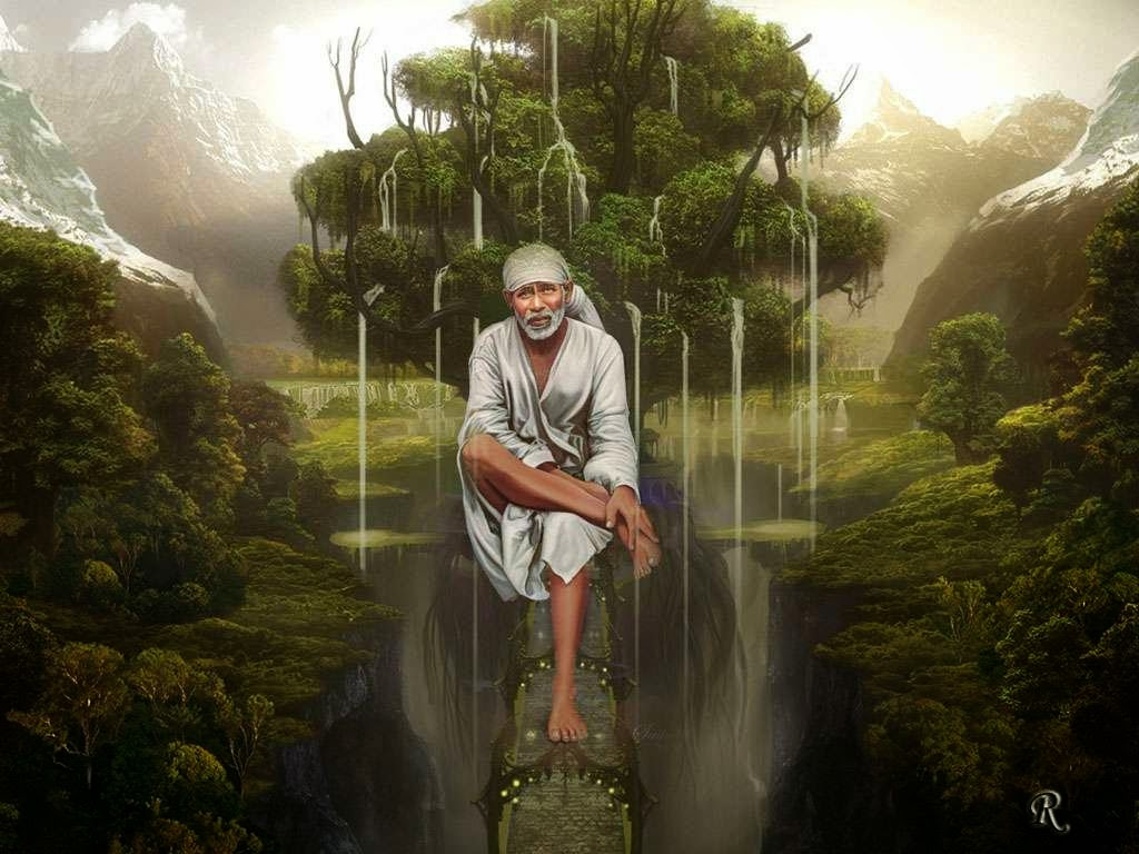 Download Shiridi Sai Baba HD wallpaper for download