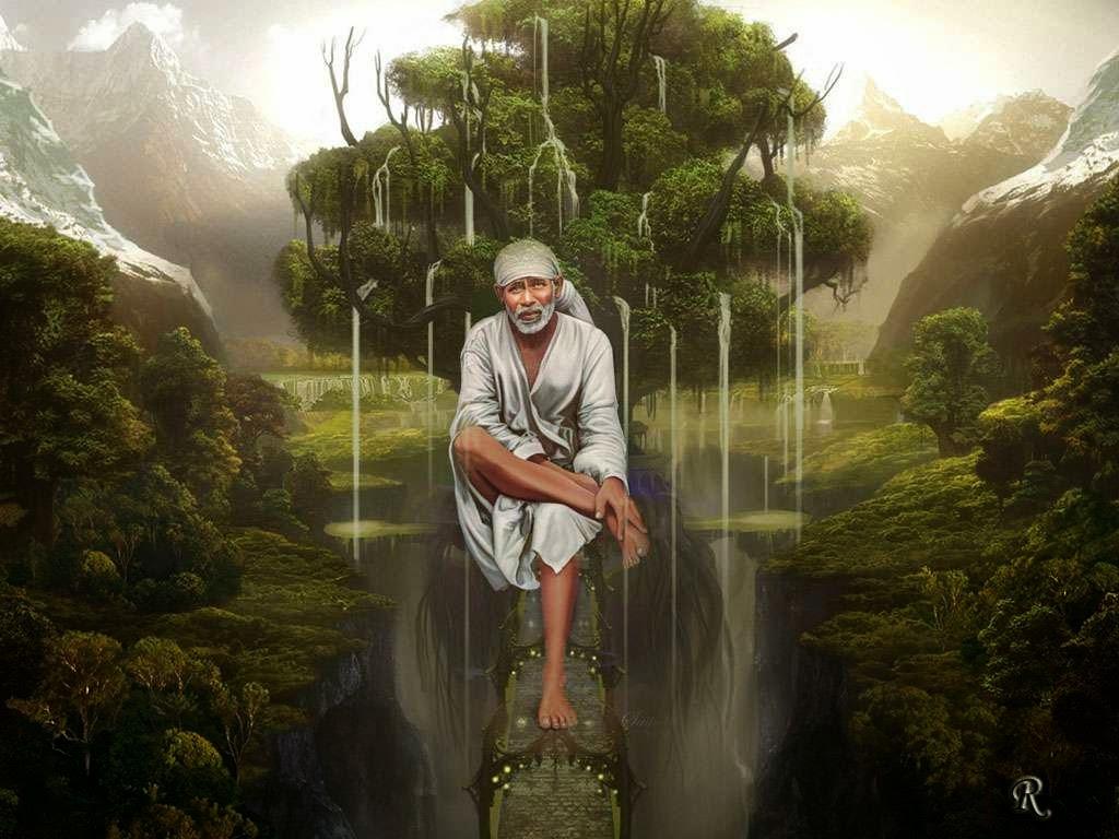 Download Shiridi Sai Baba HD wallpaper for download