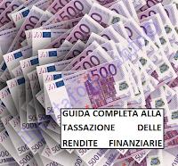 tassazione titoli di stato, buoni fruttiferi, fondi pensione, obbligazioni, azioni, investimenti vari