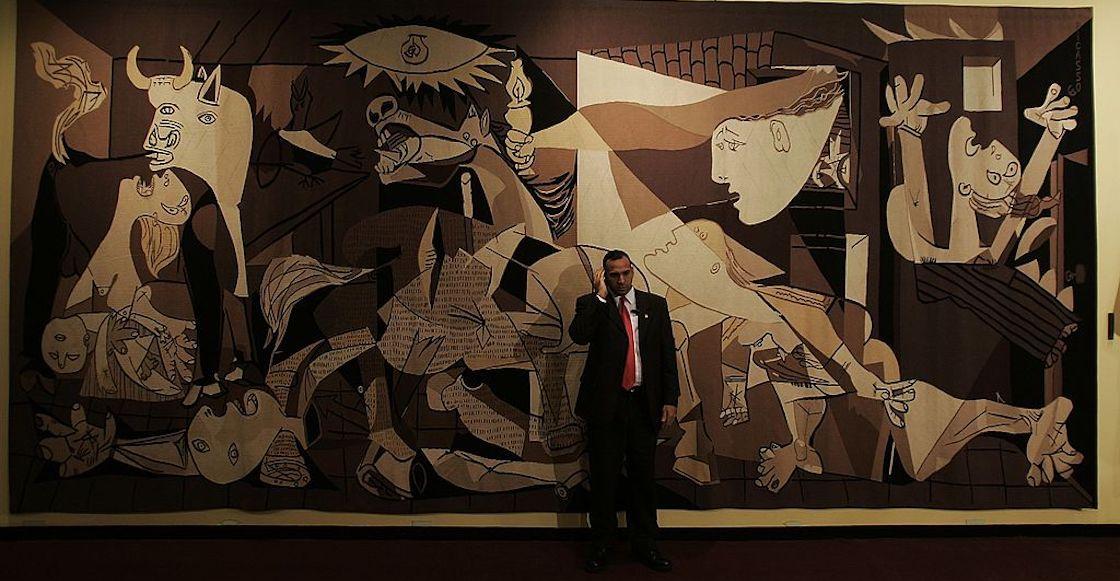 """El """"Guernica"""" de la entrada del Consejo de Seguridad de la ONU ha sido retirado, su dueño, Rockefeller, lo reclamó"""