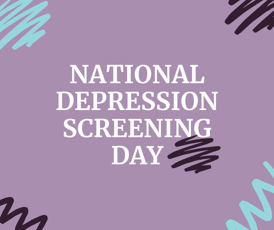 National Depression Screening Day Wishes