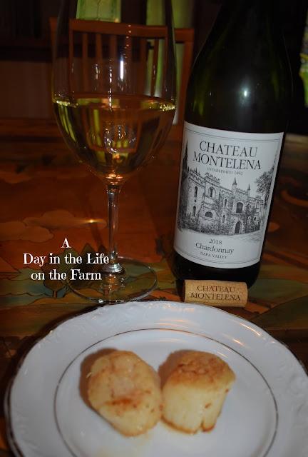 Chateau Montelena with Seared Scallops