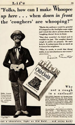 Eddie Cantor for Old Gold cigarettes