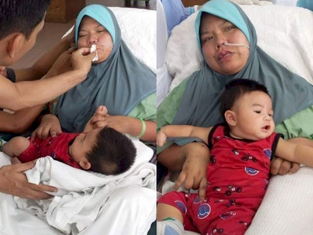 Ibu Ini Pingsan 2 Bulan usai Melahirkan, Akhirnya Sadar dan Tatap Bayinya Pertama Kali