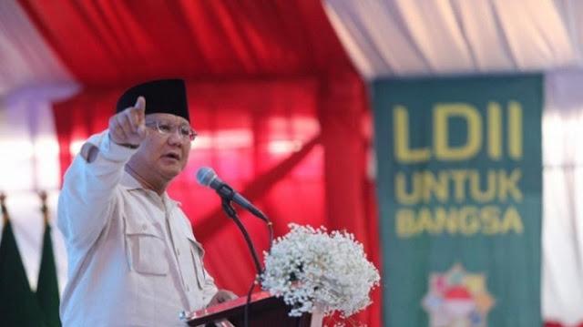 Prabowo: Kita Jangan Jadi Kacung Bangsa Lain!