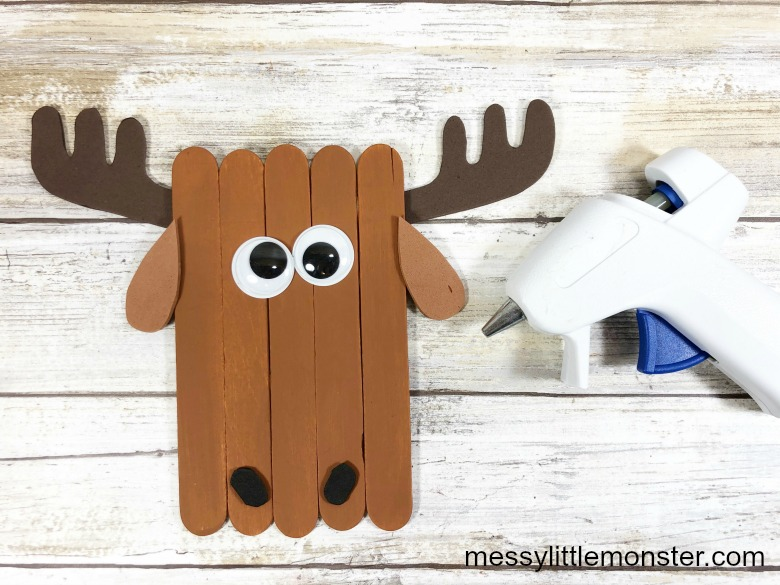 Arctic Animal Moose Craft