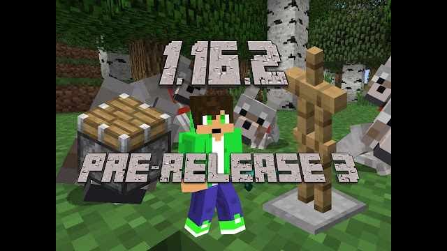 Minecraft Java Edition - 1.16.2 PRE-RELEASE 3