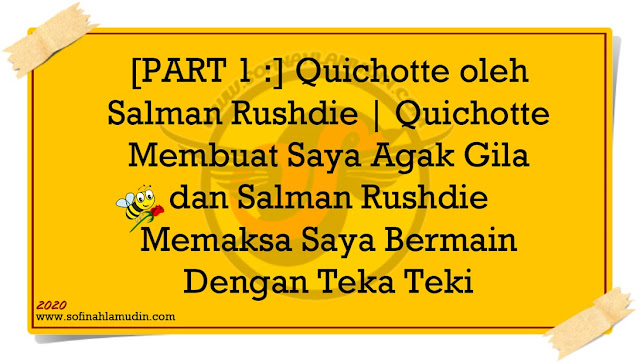 Review Buku Quichotte oleh Salman Rushdie