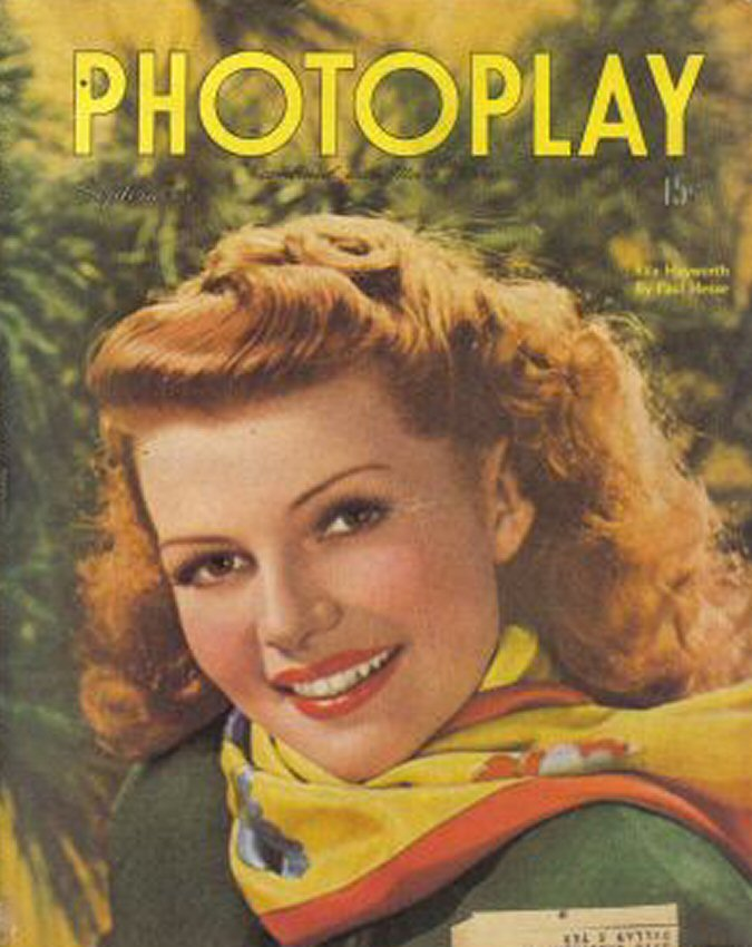 big living room couches modern sectional sofas rita hayworth on vintage movie magazine covers ~ ...