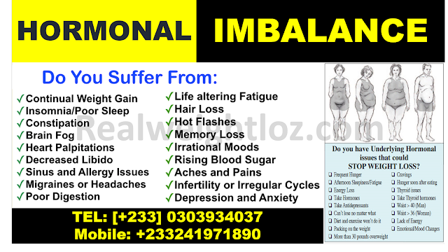 Hormonal Imbalance, Causes and Symptoms + Treatment