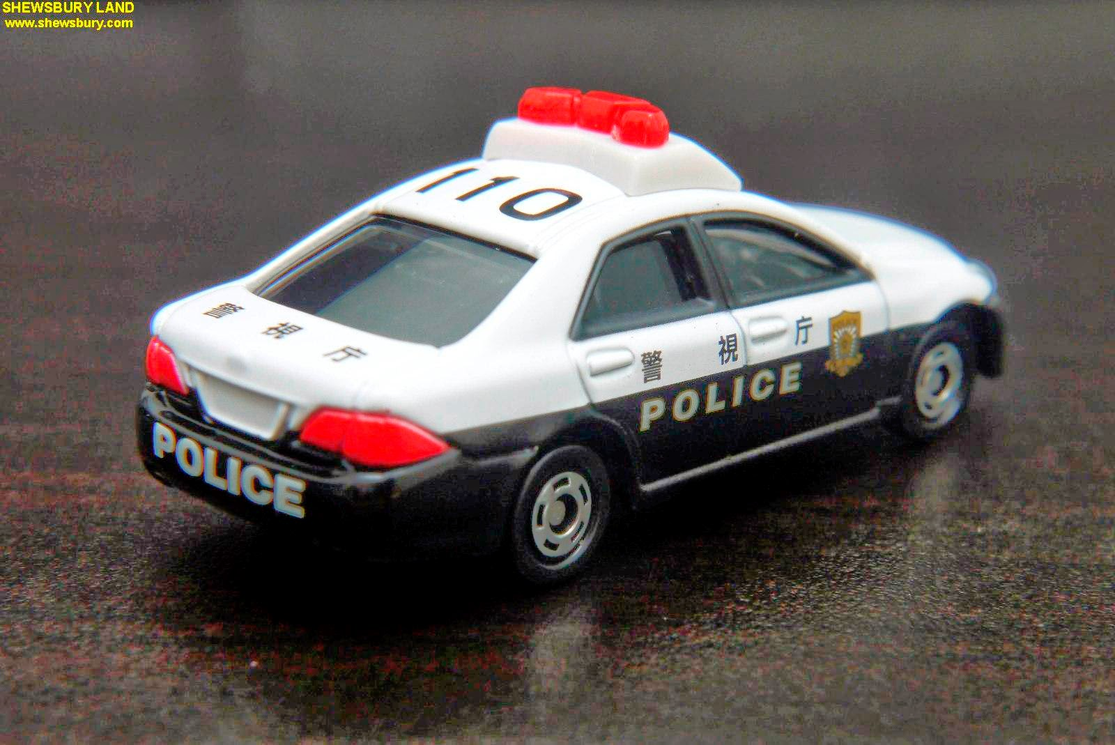 Car Painting Apps >> Tomica - Toyota Crown Patrol Car