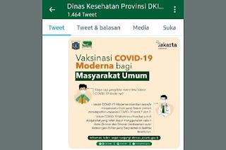 Bagi Masyarakat Umum yang Ingin Daftar Vaksin Moderna di Jakarta, Perhatikan 6 Syarat Wajib Ini