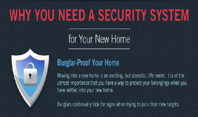 Why You Need a Security System #infographic