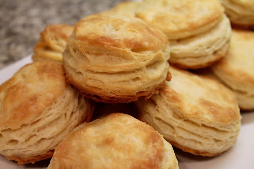 Butter flaky biscuits