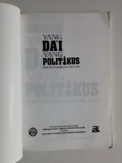 Yang Da'i Yang Politikus