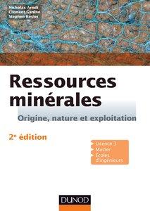 Ressources minérales : Origine, nature et exploitation , Géologie  , cours