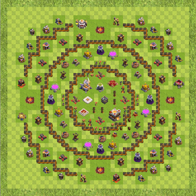 War Base Town Hall Level 11 By dip.bane (KG140916 TH 11 Layout)