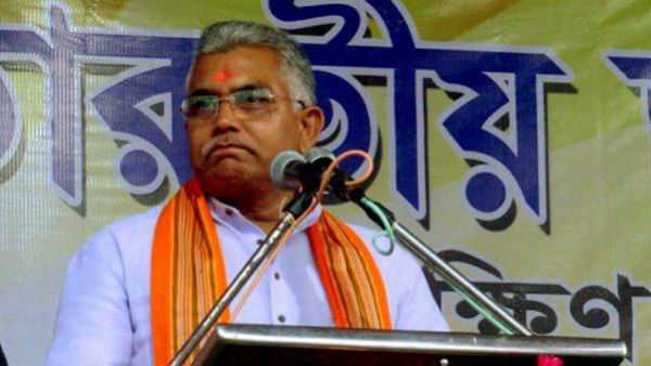 Dilip Ghosh has hinted whos can leave the 'garbage' of the Trinamool and join the BJP!