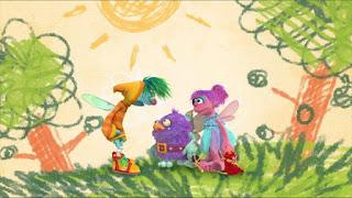 Sesame Street Episode 4316 Finishing the Splat season 43, Abby Cadabby Blögg Gonnigan, Abby's Flying Fairy School Niblet's Wand