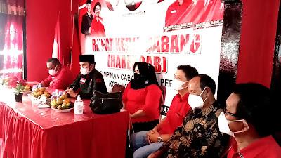 Rapat Konsilidasi DPC PDIP Sungai Penuh Resmi Dibuka Ketua DPD Prov Jambi